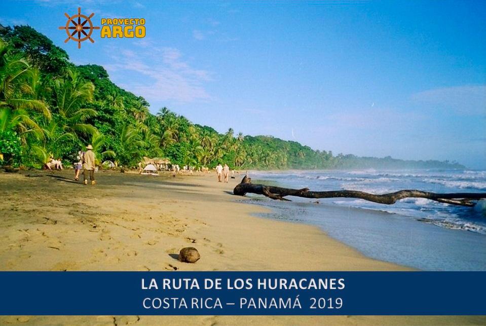 La ruta de los huracanes