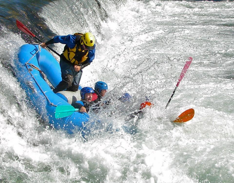 Una actividad que nos encanta: el rafting