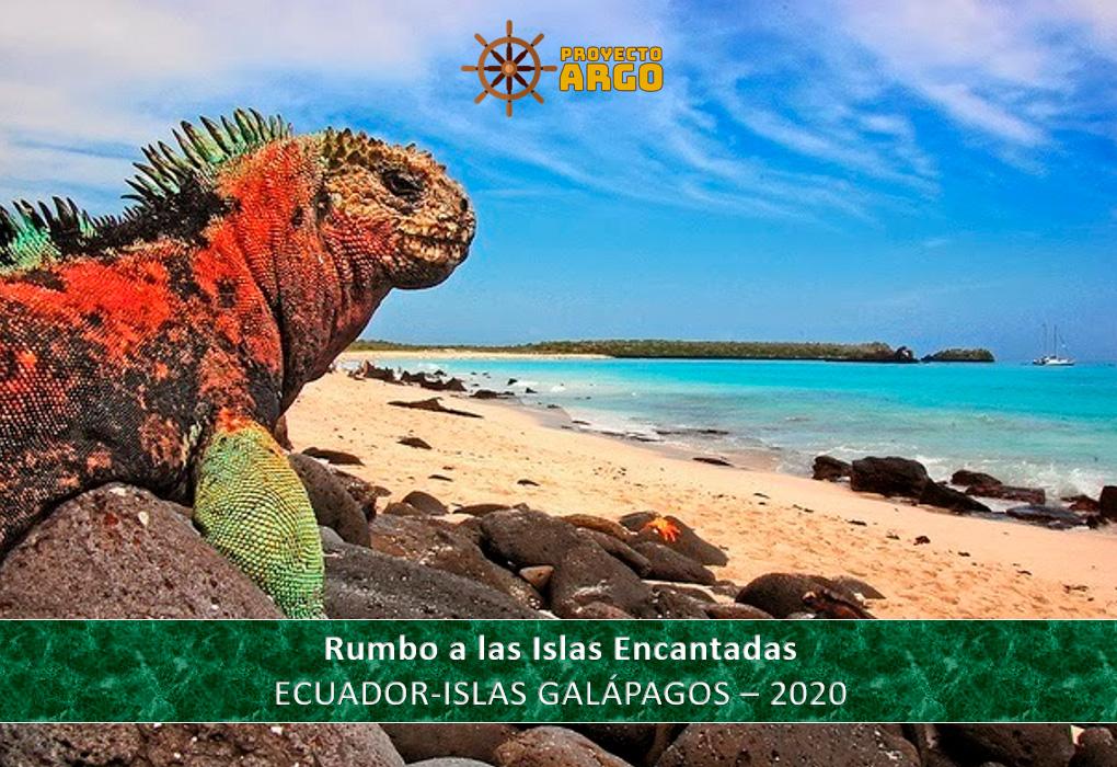 """""""Rumbo a las Islas Encantadas"""" Ecuador-Islas Galápagos 2020"""